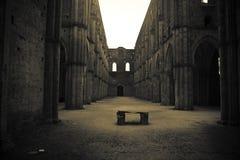 San Galgano - la Toscana Fotografia Stock Libera da Diritti