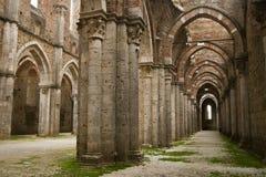 San Galgano - la Toscane Image stock