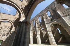 San Galgano (Siena, Toskana, Italien) Stockfotos