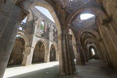 San Galgano (Siena, Toskana, Italien) Stockbilder