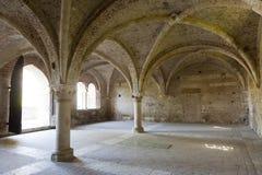 San Galgano (Siena, Toskana, Italien) Stockbild