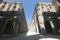 San Galgano (Siena, Toskana, Italien) Lizenzfreie Stockfotografie