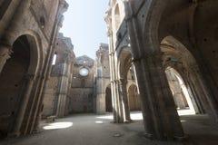 San Galgano (Siena, Tuscany, Italy) Stock Images
