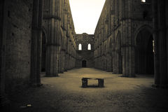 San Galgano - Toscana Fotografía de archivo libre de regalías