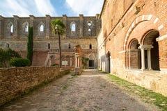 San Galgano - Toscana Imagen de archivo libre de regalías