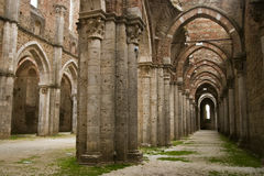 San Galgano - Tuscany Stock Image