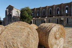 San Galgano, Tuscany, Italy Royalty Free Stock Images