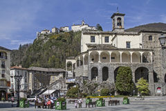 San Gaudenzio dans Varallo Sesia photographie stock libre de droits