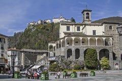 San Gaudenzio in Varallo Sesia fotografia stock libera da diritti