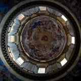 San Gennaro教堂的圆顶  库存图片