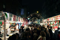 San Gennaro Festival in NY Stock Image