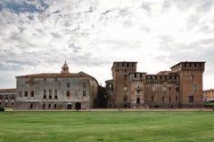 San George Castle a Mantova immagini stock libere da diritti