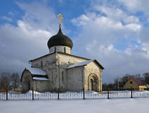 San George Cathedral, Jur'ev-Pol'skij Fotografia Stock Libera da Diritti