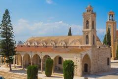 San George Cathedral, Paralimni, Cipro Fotografia Stock Libera da Diritti