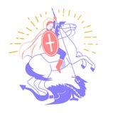 San Georgi dell'icona Fotografie Stock Libere da Diritti