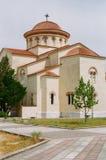 San Gerasimos Monastery in Kefalonia, Grecia fotografia stock