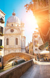 San Geremia church in a summer day in Venice Royalty Free Stock Photos