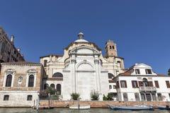 San Geremia church in Venice, Italy. Royalty Free Stock Image