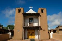 San Geronimo Chapel in Taos Pueblo Stock Photos