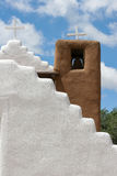 San Geronimo Chapel in Taos Pueblo, USA Stock Images