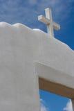 San Geronimo Chapel in Taos Pueblo, USA Royalty Free Stock Images