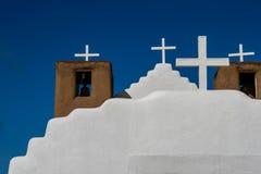 San Geronimo Chapel in Taos Pueblo, USA Stock Photo
