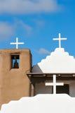 San Geronimo Chapel in Taos Pueblo, USA Royalty Free Stock Photos
