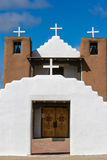 San Geronimo Chapel in Taos Pueblo, USA Royalty Free Stock Images