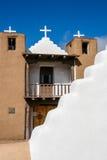San Geronimo Chapel in Taos Pueblo, USA Royalty Free Stock Photography
