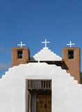 San Geronimo Chapel in Taos Pueblo, USA Royalty Free Stock Photography