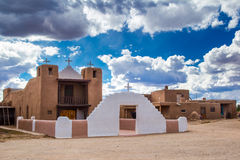 San Geronimo de Taos Church Photo stock
