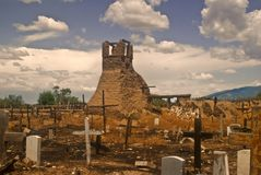 San Geronimo Ruins - Taos Pueblo Royalty Free Stock Photo
