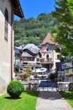 San Gervais, Francia Fotografia Stock
