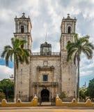 San Gervasio Cathedral - Valladolid, Mexique photos libres de droits