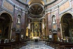 SAN Giacomo στην εκκλησία του Αουγκούστα, Ρώμη, Ιταλία Στοκ φωτογραφία με δικαίωμα ελεύθερης χρήσης