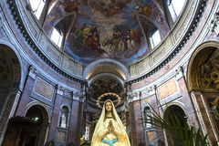 San Giacomo in Augusta church, Rome, Italy Stock Photography