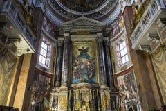 San Giacomo in Augusta-Kirche, Rom, Italien Lizenzfreie Stockfotos