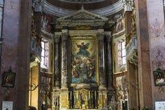 San Giacomo in Augusta-Kirche, Rom, Italien Stockbilder