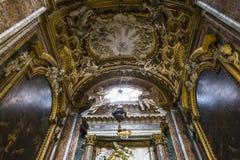 San Giacomo dans l'église d'Augusta, Rome, Italie Image stock