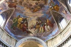San Giacomo dans l'église d'Augusta, Rome, Italie Photographie stock