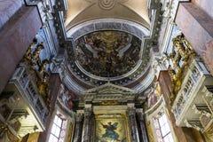 San Giacomo en la iglesia de Augusta, Roma, Italia Imágenes de archivo libres de regalías