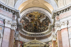 San Giacomo na igreja de Augusta, Roma, Itália Imagem de Stock