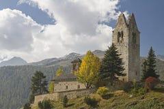 San Gian in Engadina Royalty Free Stock Image