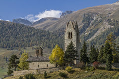 San Gian in Engadina Royalty Free Stock Photo
