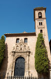San Gil y Santa Ana Church in Granada Royalty Free Stock Photography