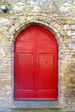San Gimignano è una piccola città medievale della collina in Toscana Immagini Stock