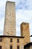 San Gimignano, Италия Стоковые Фотографии RF