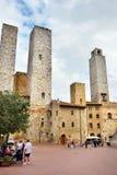 San Gimignano, Италия Стоковое Фото