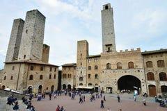 San Gimignano, Италия Стоковое фото RF