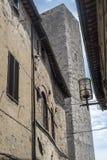 San Gimignano, Сиена, на утре Стоковая Фотография